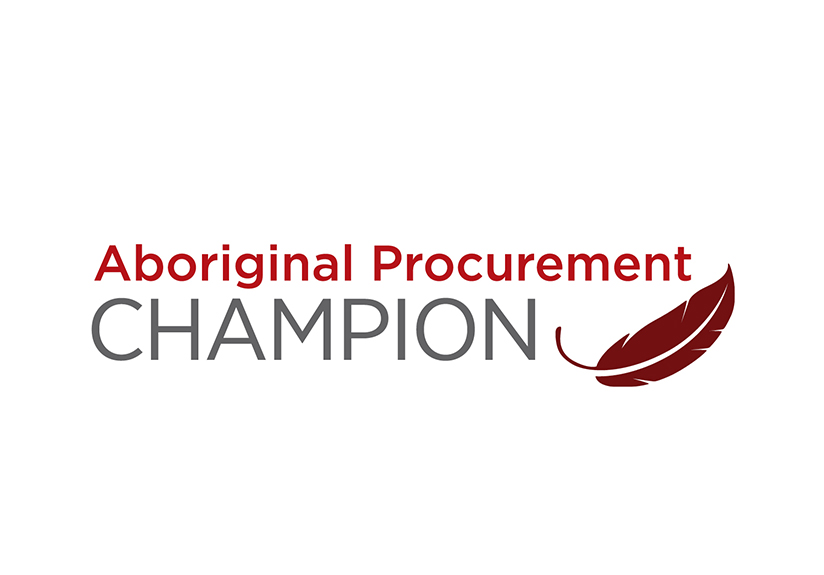 STEEL RIVER GROUP IS CERTIFIED AS AN ABORIGINAL PROCUREMENT CHAMPION