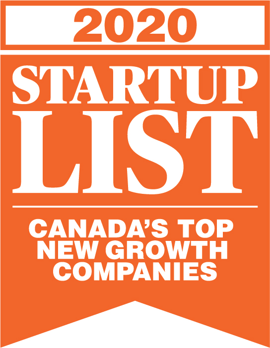WINNER! CANADIAN BUSINESS' FASTEST GROWING STARTUP IN 2020